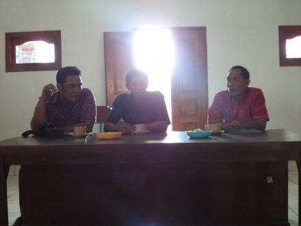 Desa Telaga Mendapat Giliran Pembinaan, Monitoring Dan Evaluasi Penggunaan Dana Desa Tahun 2018