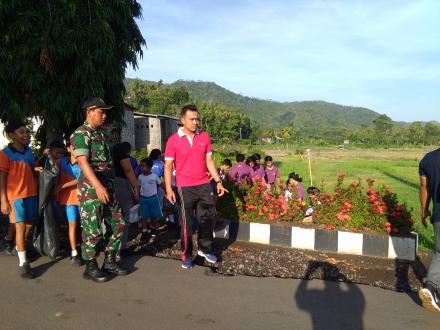 Desa Telaga Gelar Gerakan Semesta Berencana Bali Resik Sampah Plastik