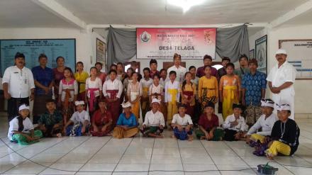 Bulan Bahasa Bali Tahun 2020 Desa Telaga