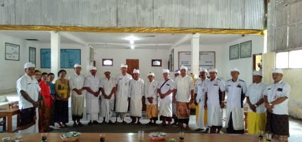 Pengukuhan Parisada Hindu Dharma Indonesia (PHDI) Desa Telaga