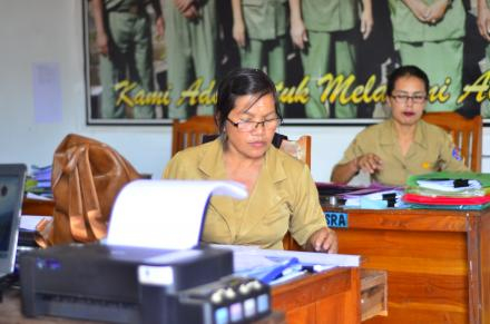 Suasana Kantor Desa Telaga